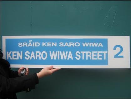 Ken Saro Wiwa Dublin
